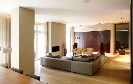 Innenarchitektur luxus  Innenarchitektur Luxus-Penthouse, Frankfurt | w40 Architekten ...