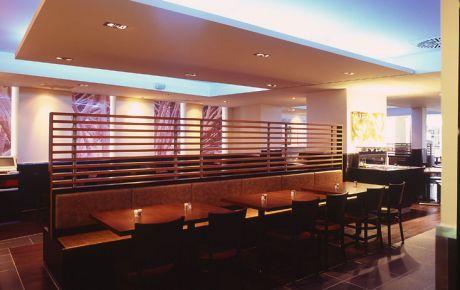 markenarchitektur pizza hut heidelberg w40 architekten. Black Bedroom Furniture Sets. Home Design Ideas
