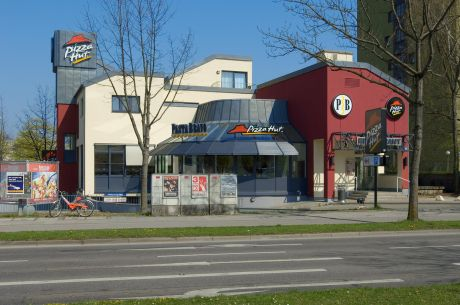 Markenarchitektur Pizza Hut Munchen W40 Architekten Wiesbaden
