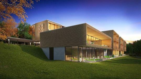 villa medica edenkoben w40 architects germany. Black Bedroom Furniture Sets. Home Design Ideas
